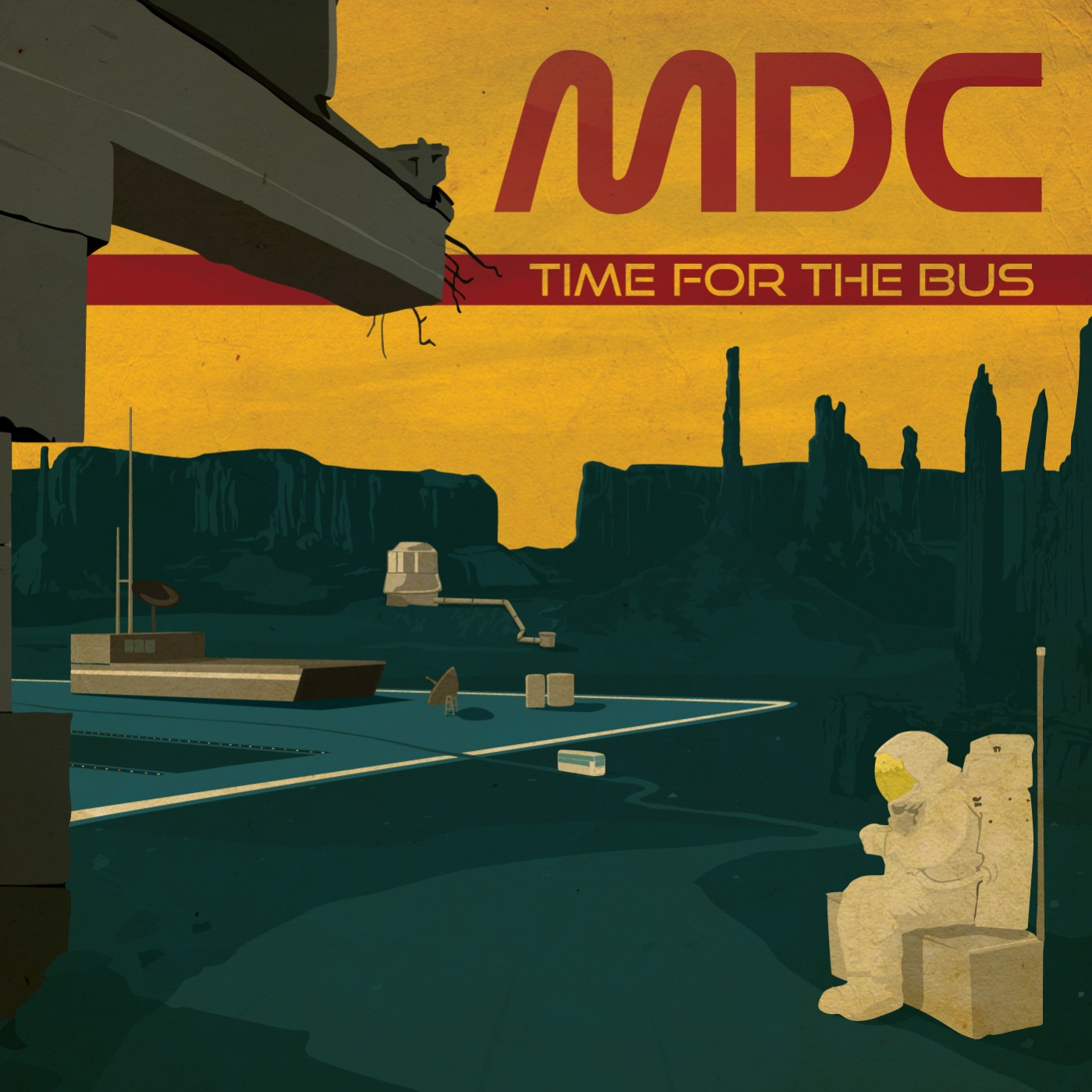 Cover MDC time for the bus