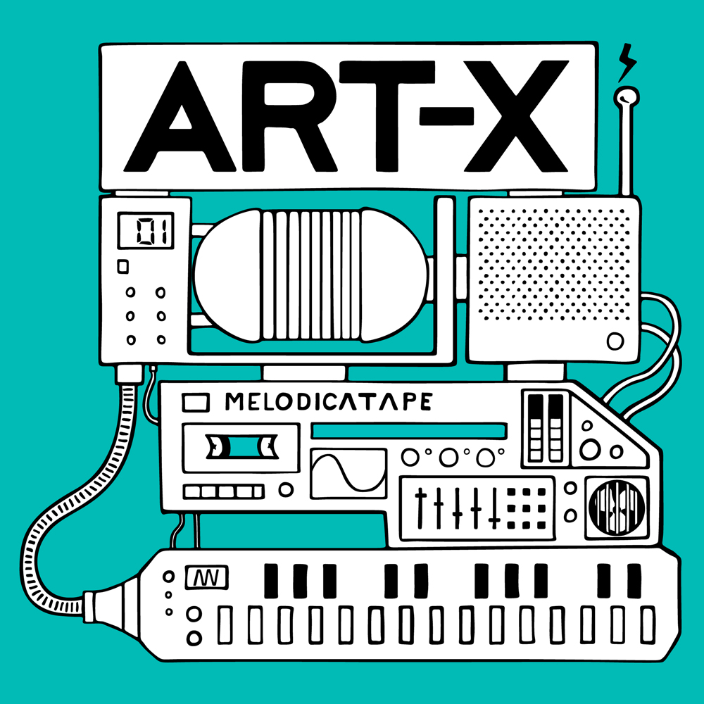 Melodica Tape by Art-X