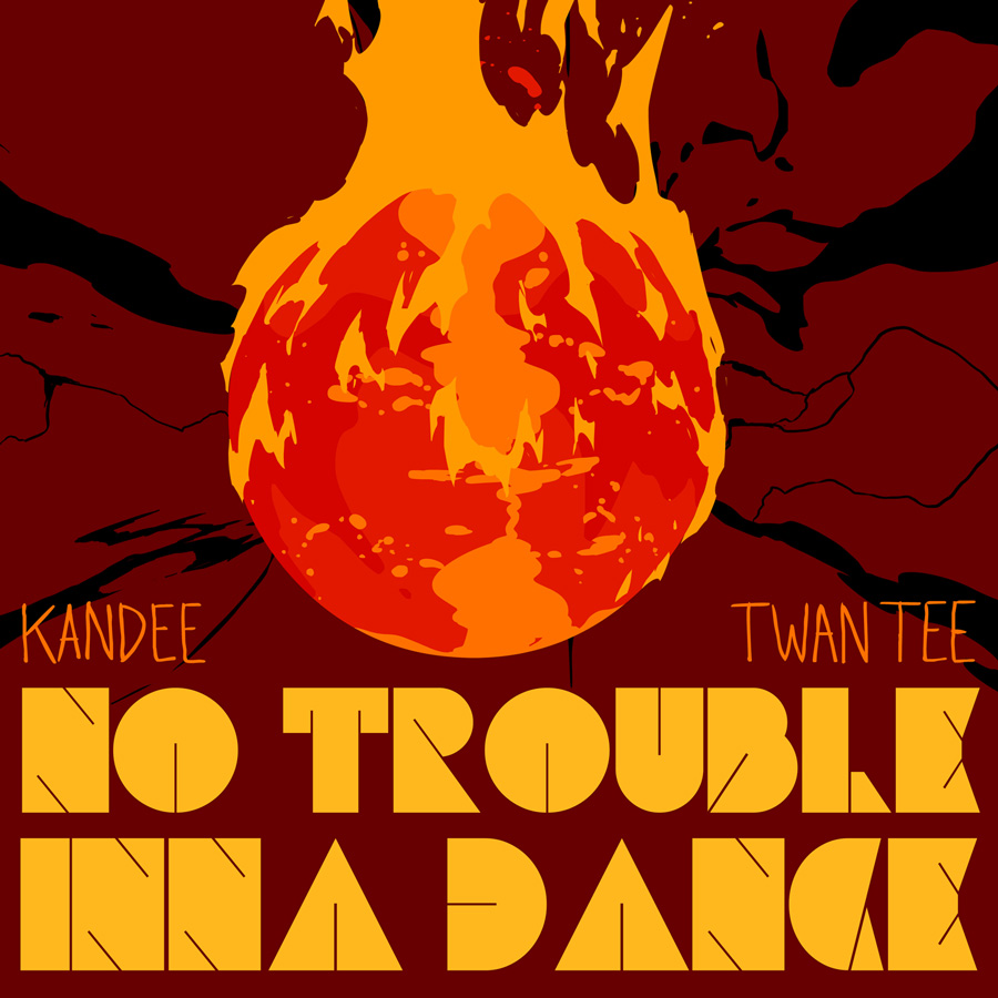 Kandee meets Twan Tee - No Trouble inna Dance