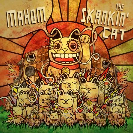 Mahom TheSkankinCat Cover Front Web