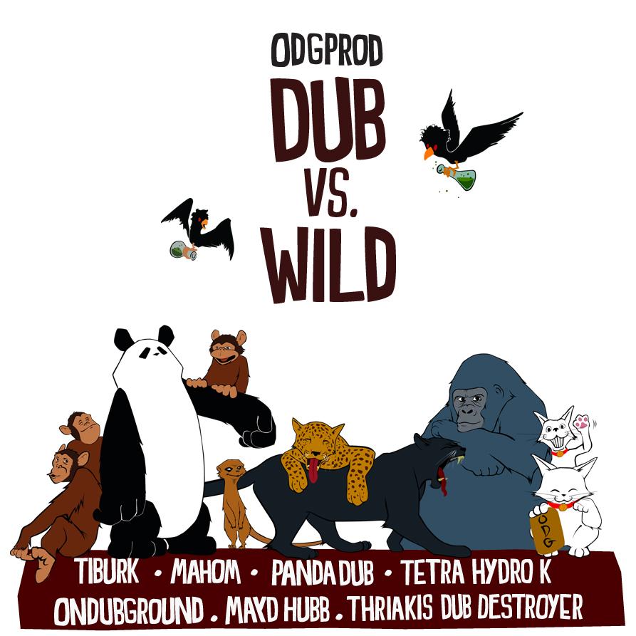 Cover Dub Vs Wild